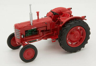 Volvo BM350 TRACTOR 1:43 scale model on a display plinth (removable)
