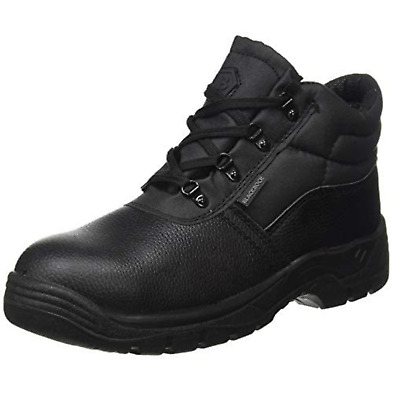 Blackrock Chukka Safety Work Boots Steel Toe Caps & Midsole Black Leather (SF02)