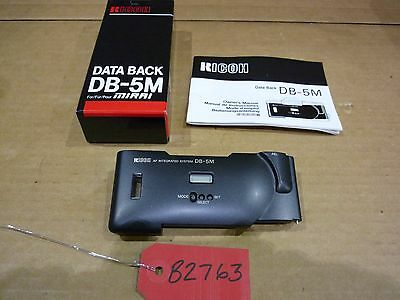 Ricoh Data Back DB-5M for Mirai (NOS)