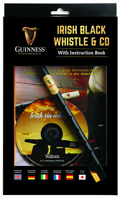 Guinness Irish Black Whistle With Cd And Instruction Book