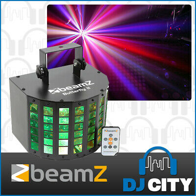 Beamz LED Butterfly RGBAWP DJ Party Disco Effect Light Sound Active FX Stage ...
