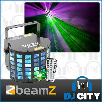 Beamz LED Radical RGB DJ Party Disco Effect Light With Laser Sound Active FX ...