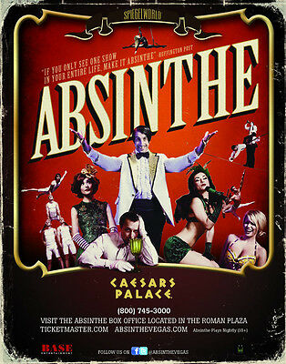 37$ OFF Absinthe SHOW ADMISSION TICKETS DISCOUNT PROMO  Las Vegas ceasars palace