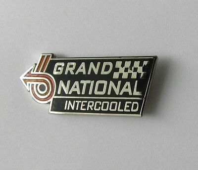 Buick Grand National Intercooled Automobile Classic Car Pin Badge 3/4 Inch