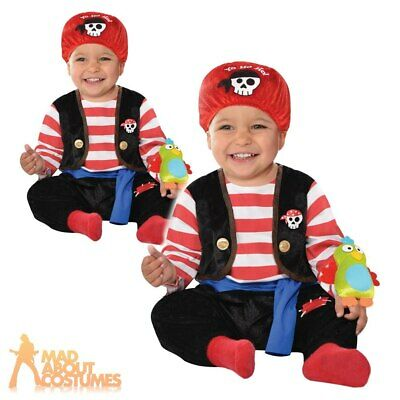 Baby Pirate Buccaneer Costume Babies Shipmate Book Week Day Fancy Dress Outfit