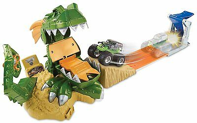 Hot Wheels Monster Jam Dragon Attack Car Race Track Mattel Ages 4+ New Toy Boys