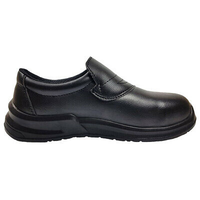 Blackrock Hygiene Slip-On Safety Shoes Food Safe Work Steel Toe Caps (SRC04B)