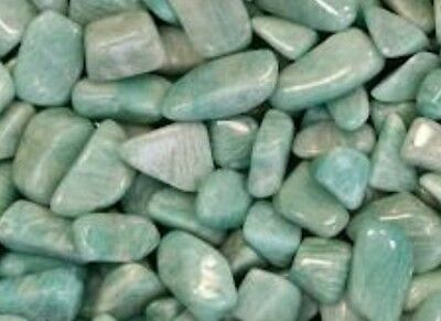 Tumbled Amazonite crystal - 1 stone (min size of 1-2cm) - Free Postage