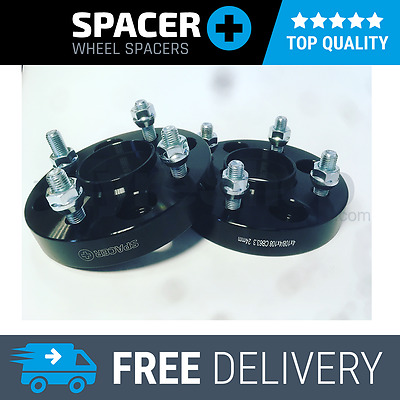Ford Fiesta MK6 2002-2008 4x108 PCD 24mm Hubcentric Wheel Spacer+ Nuts Pair