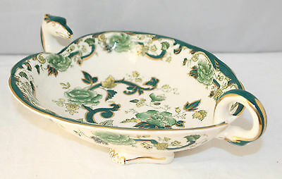 Mason's Ironstone - Green Chartreuse - Griffin Serving Dish
