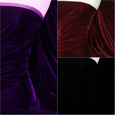 Micro Velvet Velour Fabric Luxuriously Soft Velvet Material MVEL22