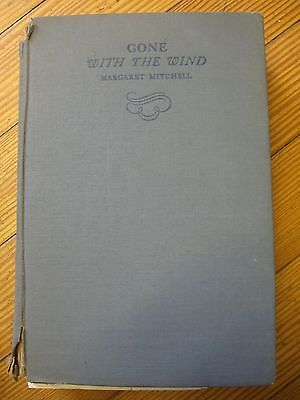 Gone with the Wind,1st Ed.(Later Printing) Margaret Mitchell, MacMillan 1938