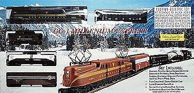 HO Scale GG-1 Millenium Express Train Set (International Hobby Corporation)