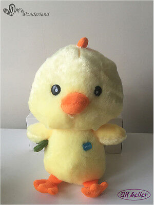"""NEW Lovely Yellow 12""""  Chicken Farm Cuddly Plush Soft Toy + Free Gift Wrapping"""
