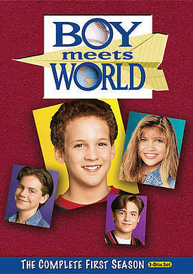 Boy Meets World - The Complete First Season (DVD, 2010, 3-Disc Set) NEW Sealed