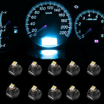 Ice Blue T4 T4.2 Neo Wedge 1-SMD LED Cluster Instrument Dash Climate Bulbs HS