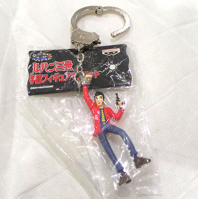 Lupin the 3rd III Handcuff Keychan NEW Official Licensed Japan Product OOP!