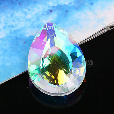 Hanging Colorful Suncatchert Chandelier Glass Crystals Lamp Prisms Pendants 76mm