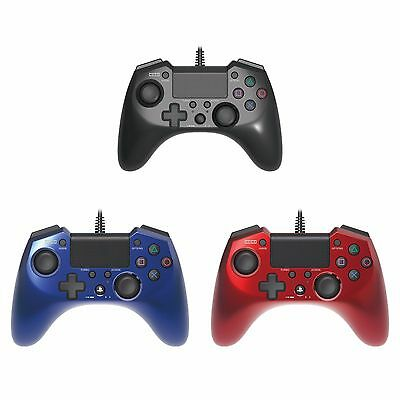 Hori Pad 4 FPS Plus Turbo Rapid Fire Wired Controller Gamepad for Sony PS4 PS3
