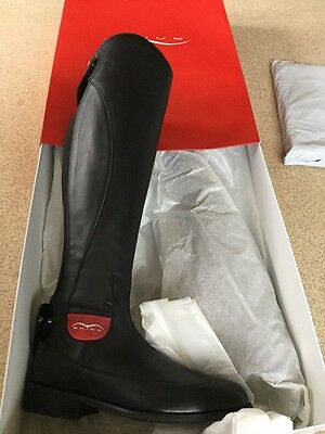Animo Long Riding Boots BN 35S Black rrp £569