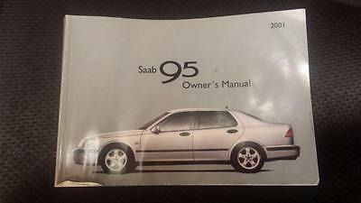 Saab 95 2001 Owners Manual / Handbook Saab Part No: 418624