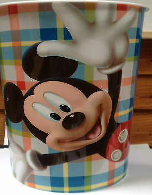 Disney Mickey Mouse Waste Paper Bins kids Childrens Bedroom New