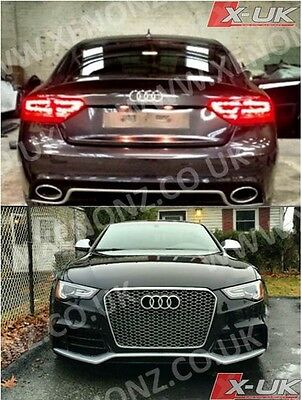 Front Bumper Conversion For Audi A5 S5 To Rs5 2012+