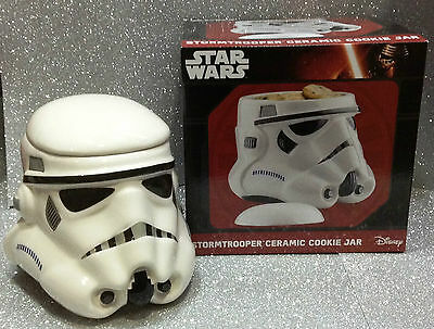 Star Wars Biscottiera Ceramicastorm Trooper 3 D Ceramic Cookie Jar