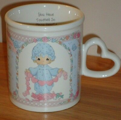 "Precious Moments VERY SPECIAL GRANDMA Mug ""You Have Touched So Many Hearts"""