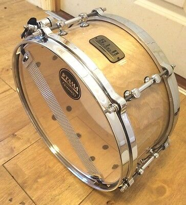 New Unboxed Tama SLP Figured Natural Birch 12x5.5 Snare Drum ~Free Shipping~
