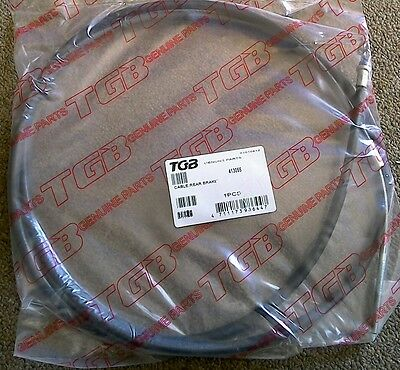 NEW TGB BH1 101S Keywest Scooter Rear Brake Cable Assembly, OEM,  413055