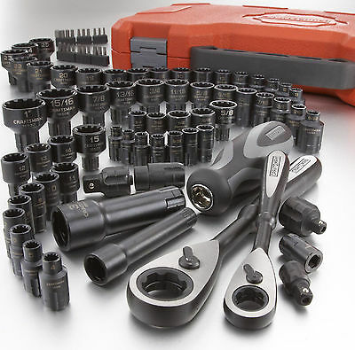 NEW! Craftsman 85 pc Universal Max Axess Tool Set with Case SAE Metric piece