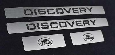 Serie Battitacco In Acciaio  Land Rover Discovery Sport Sd4 Td4 Hse Luxury