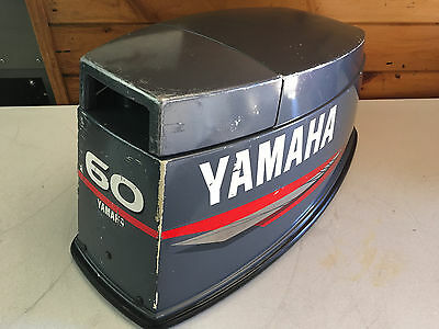 1996 Yamaha 60 Hp 2 Stroke 3 Cylinder Hood Top Cowl Cowling Shroud Freshwater MN