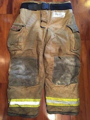 Firefighter Turnout Bunker Pants Globe 44x30 G Extreme Halloween Costume