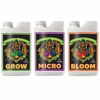 Advanced Nutrients Grow,Bloom,Micro pH Perfect 1L Set