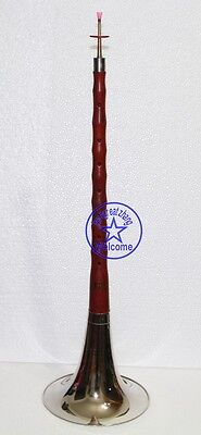 Professional yanjing New Red wood Chinese Big F key Trumpet Suona free reeds
