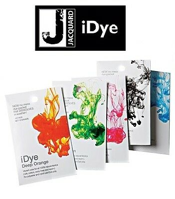 Jacquard iDye - Natural Fabric Dye 14 Grams (30 Colours Available)