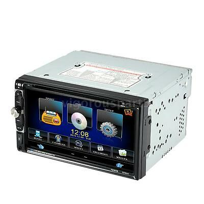 "Universal 7"" 2Din Car Stereo DVD VCD CD Player Bluetooth Radio USB/TF In-Dash FM"