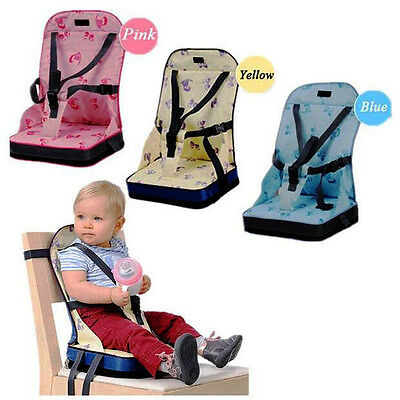 New Babyhugs Portable Baby Toddler Foldable Dining Chair On the Go Booster Seat