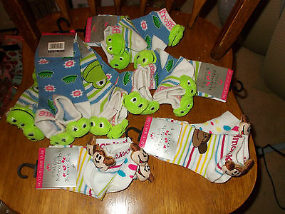 Joblot Girls Novelty Stretch Socks - 2 Pairs Per Pack