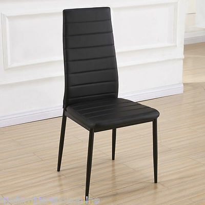 Quality Black/White Leather Restaurant/Cafe/Bistro/Bar Dining Chairs WHOLESALE