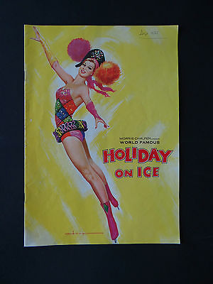 Programme 1965 Holiday On Ice PIN UP