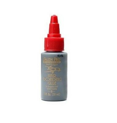 Salon Pro Hair Extension Bonding Glue Black 1 Oz (30 ml)