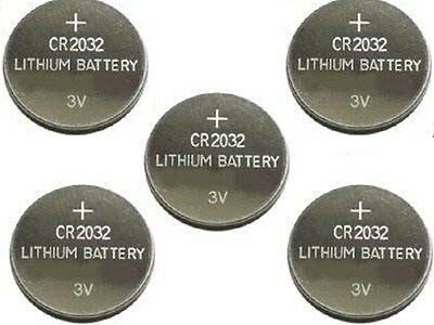 5 X Pilas Boton Fullwat Bulk Bateria Cr2032 De Litio 3V Lithium Battery 5004Lc
