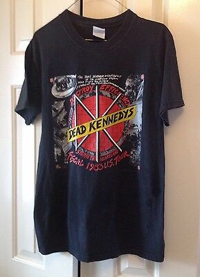 Dead Kennedys Concert Tee Adult Size Small