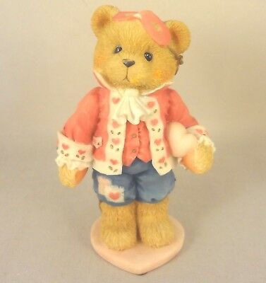 "CHERISHED TEDDIES - DARREL ""Love Unveils A Happy Heart"" 1995 Style 156450"