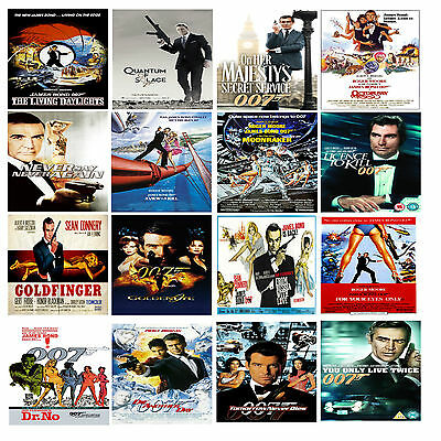 JAMES BOND 007 * Action Movie Cinema Posters * Rodger Daniel * Craig Spectre #21