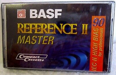 Cassette Tape Blank Sealed - Basf Reference Master Ii 90 -  For Professionals