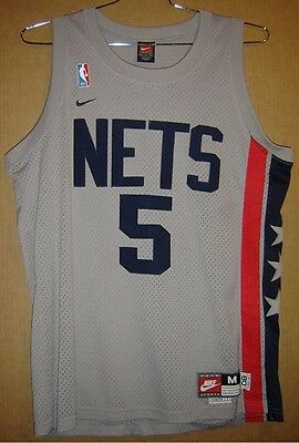 New York Nets Jason Kidd Throwback Authentic Nba Jersey